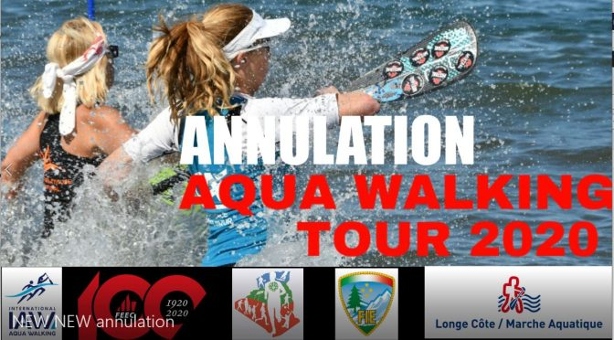 ANNULATION AQUA WALKING TOUR 2020